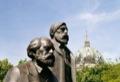 Karl Marx et Friedrich Engels, place Alexander.