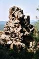 Travail du vent sur la roche