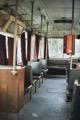 Interrieur du tram de Arad