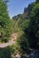 Sur la route entre le refuge Groapa Seaca et Pretrosani