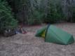 1er bivouac, une heure avant Surise Camp