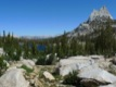 Cathedral lake et son pic