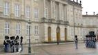 Rel�ve de la Garde au Amalienborg Palace