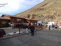 Version moins fatigante pour atteindre le haut du Teide, le t�l�cabine. Nous l