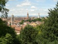 V�rone vue depuis les jardins Giusti