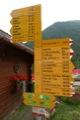 Panneaux � Champex