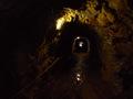 La pente �tant trop raide, un tunnel s