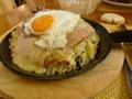 R�confort de taille (Rosti, lard et oeuf sur la plat) !