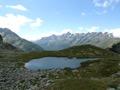 Petit lac apr�s le lac de Sagne