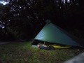 Bivouac apr�s Bellegarde