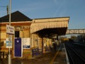 Acc�s au nord des Cotswolds en train. Gare de Moreton-in-Marsh. Apr�s on prend un bus pour Chipping Campden.