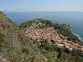 Taormina. View from the S.Maria della Rocca