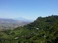 Etna vue de Enna