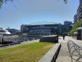 Etihad stadium and dock on Yarra river