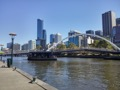 CBD, Rainbow pedestrian bridge and Ponyfish bar
