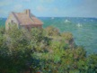 La cabane du douanier (C Monet), Varengeville.