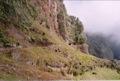Chemin taill� dans la roche