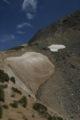 Reste de n�v� au col du Vallon