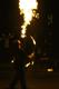 6 octobre 2007, cracheur de feu sur le pont Marie