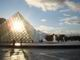 22 mars 2008, Soleil dans la Pyramide.