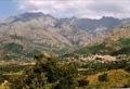 Calenzana vue du village de Moncale