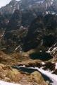 Lac de Capitellu vu depuis la br�che de Capitellu