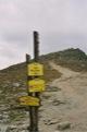 Sedlo pod Ostrwou(1966m), descente vers la droite pour le Chata pri Propradskom plese(1500m)<br>  (Hautes Tatras)
