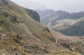 Chemin enprunt� pour aller � Kozia Przet (vu depuis Kozia Przet).<br> (Hautes Tatras - Pologne)
