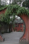 Porte est du parc
