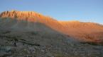 Couch� de soleil sur le mont Wittney