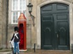 Garde devant le Amalienborg Palace