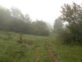 Entr�e dans la r�serve naturelle de la Haute Chaine du Jura