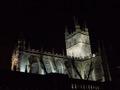 Abbaye de Bath by night