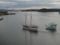 Oslo - View from the opera roof.