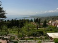 Taormina, view from the hotel TIMEO