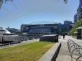 Etihad stadium and dock on Yarra river
