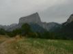 Le mont Aiguille depuis Clelles