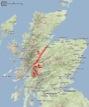 1. Great Glen Way - 2. Ben Nevis - 3. nord de la West Highland Way