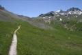 Au bout du chemin: le col de la Vall�e �troite
