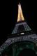 5 cotobre 2007, la Tour Eiffel qui scintille