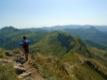 Descente depuis le Puy Mary (direction sud/est, vers Le Lioran)