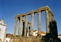 Traces romaines � Evora