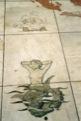 """Sol au pied du """"monument-mus�e"""" de Belem"""
