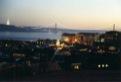 """Lisbonne, le soir, vue de l""""Alfama"""